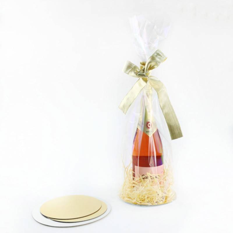 Package Double Gusset Bag for Wine Bottle
