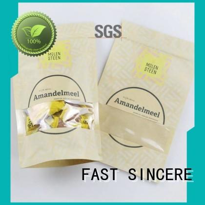 FAST SINCERE ziplock mini gift bags with handles Supply for nuts
