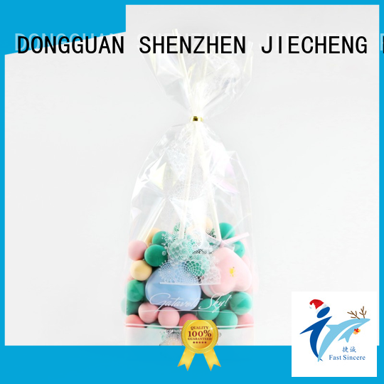 FAST SINCERE clean small cellophane bags owner for sweets