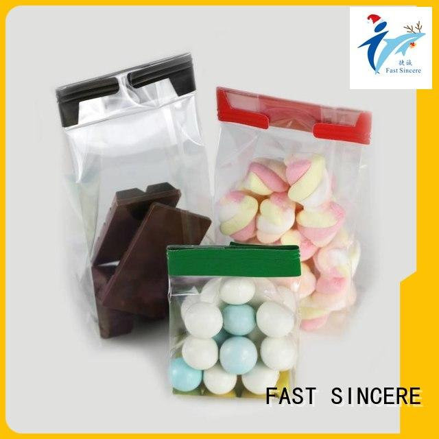 Top square cellophane bags food manufacturers for snacks