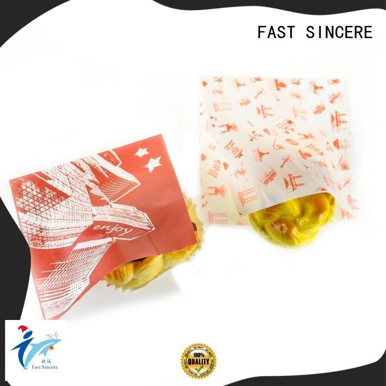 FAST SINCERE resonable design large polythene bags bulk production for bread