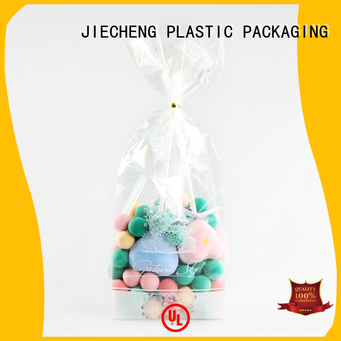 Reusable Transparent Food Clear Custom Plastic Opp Package Bag