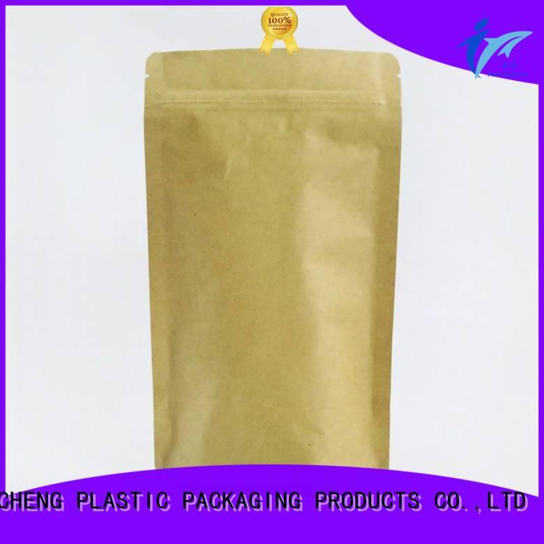 FAST SINCERE affordable price custom printed kraft paper bags ziplock for tea