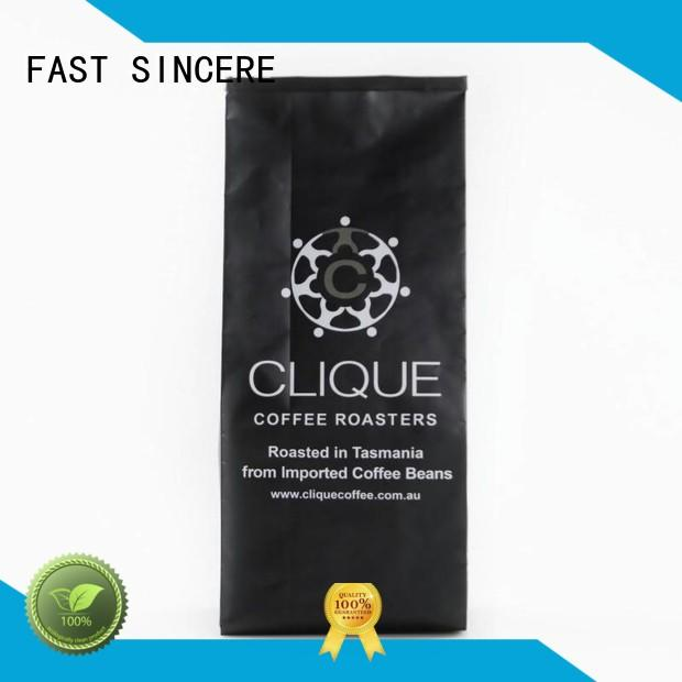 FAST SINCERE aluminum coffee flavored coffee for business for coffee beans