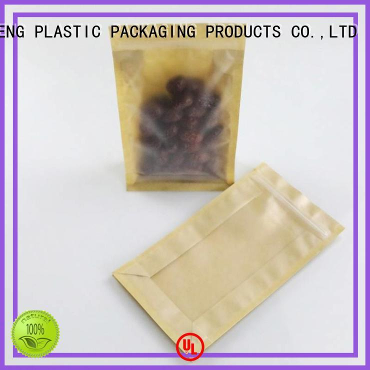 bag brown kraft paper bags wholesale clear for seeds FAST SINCERE