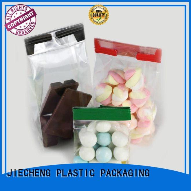 sustainable food packaging plastic bag transparent from manufacturer for sugar