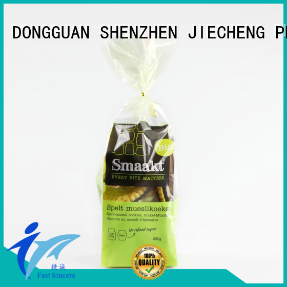 plastic self sealing cellophane bags from manufacturer for snacks