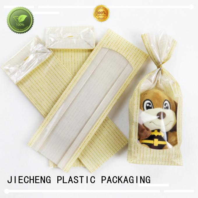 Candy Bags Factory Flat Block Bottom Heat Sealing in OPP