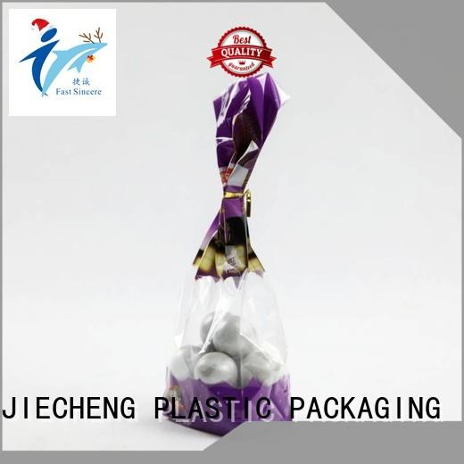 FAST SINCERE heat sealing gusseted cellophane bags bulk production for snacks